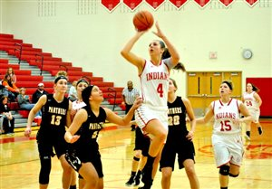 Lady Indians fall to Miami Trace