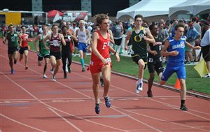 Fairfield's Brandtson Duffie sets PR in 3rd-place finish in Div. III State 800m run