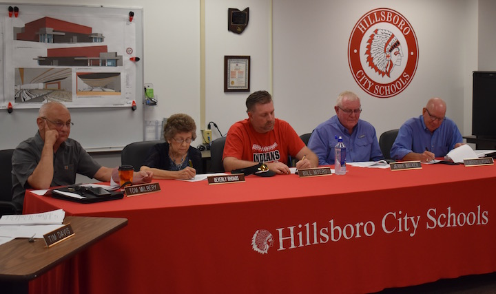 Hillsboro school board hears update on start of school year; OKs contracts with Pepsi, energy provider