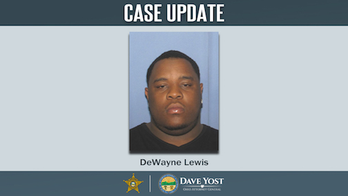 DNA technology confirmed human remains found in March 2020 were those of Dewayne Lewis of Toledo, who was last seen Oct. 21, 2013. (Photo courtesy of the Ohio Attorney General's Office)